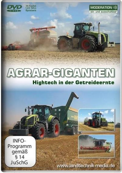 Agrar-Giganten - Hightech in der Getreideernte