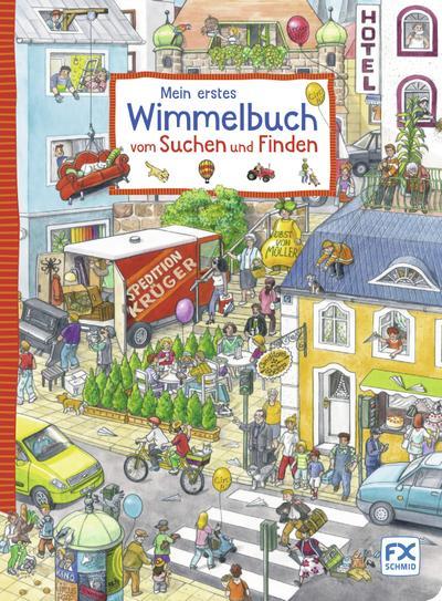 Mein erstes Wimmelbuch vom Suchen und Finden