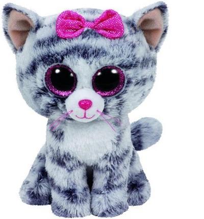 Kiki - Katze grau, 15cm