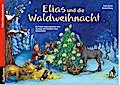 Elias und die Waldweihnacht; Ein Folien-Adventskalender zum Vorlesen und Gestalten eines Fensterbildes; Ill. v. Witzig, Bärbel; Deutsch; Achtung: Nicht geeignet für Kinder unter drei Jahren.
