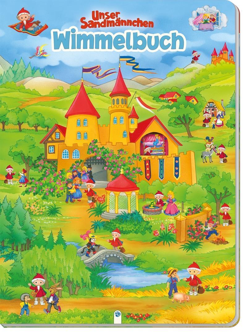 """Martina Reichert-Golde ~ Wimmelbuch """"""""Unser Sandmännchen"""""""" 9783957741912"""