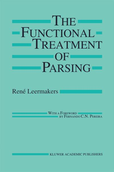 Functional Treatment of Parsing