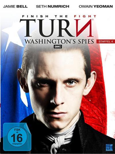 Turn - Washington's Spies - Staffel 4 [4 DVDs]