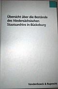 Übersicht über die Bestände des Niedersächsischen Staatsarchivs in Bückeburg
