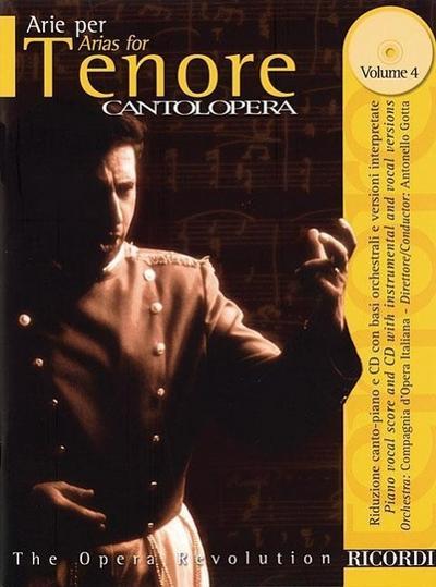Arias for Tenor Volume 4: Cantolopera Series