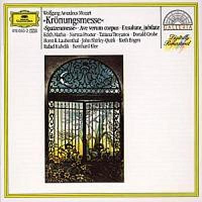 "Mozart: ""Coronation Mass"", ""Spatzenmesse"", Ave verum corpus, Exsultate, jubilate"