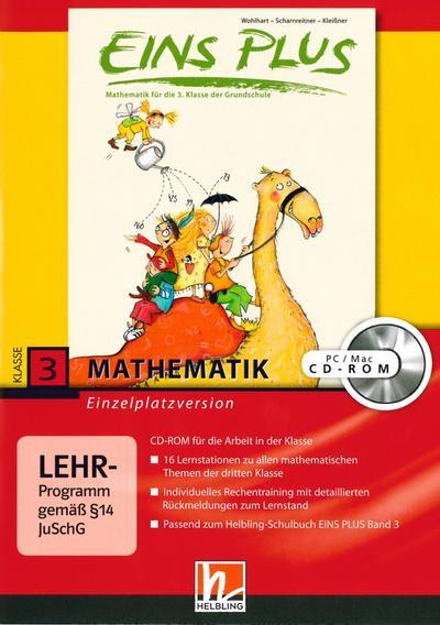 EINS PLUS 3. Ausgabe D. Lernsoftware für die Klasse