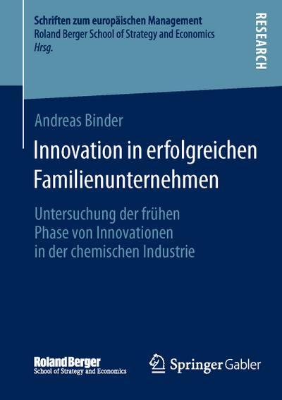 Innovation in erfolgreichen Familienunternehmen