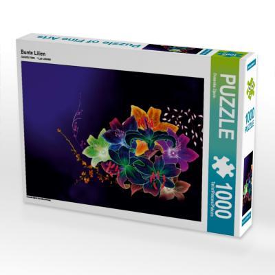 Bunte Lilien (Puzzle)