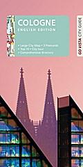 GO VISTA: City Guide Cologne; English Edition - Guidebook with extra map and three postcards; Go Vista City Guide; Englisch; 95 Fotos, mit herausnehmbarer Faltkarte