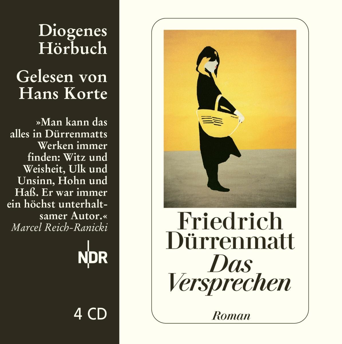 Das Versprechen. 4 CDs Friedrich Dürrenmatt