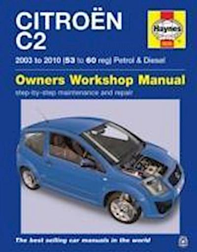 Citroen C2 Petrol & Diesel ('03 - '10) 53 To 60