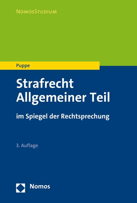 Ingeborg Puppe Strafrecht Allgemeiner Teil
