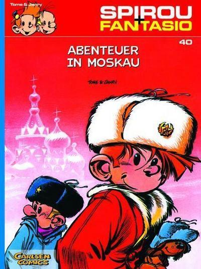 Spirou und Fantasio 40. Abenteuer in Moskau