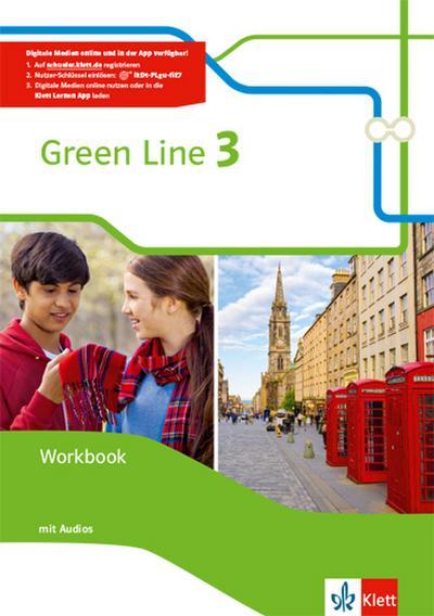 Green Line 3. Workbook mit Audio CDs. Neue Ausgabe