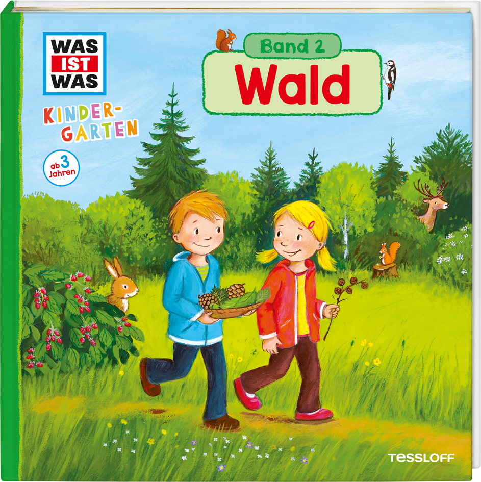 Andrea Weller-Essers ~ WAS IST WAS Kindergarten: Wald 9783788619220