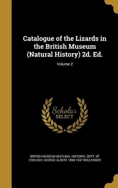 CATALOGUE OF THE LIZARDS IN TH