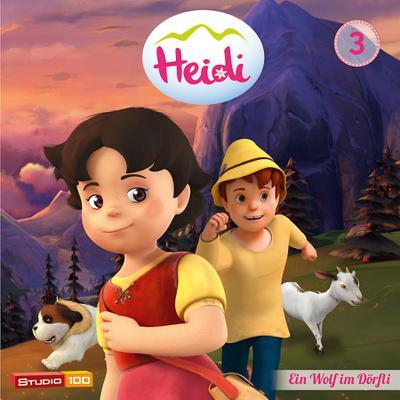 Heidi (CGI) 03: Ein Wolf im Dörfli u.a.