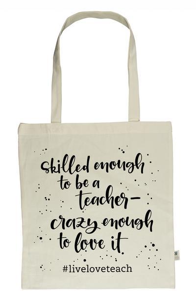 Meine 'Heute schaff ich alles!'-Tasche - 'live - love - teach'