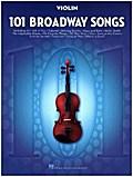 101 Broadway Songs: Violin