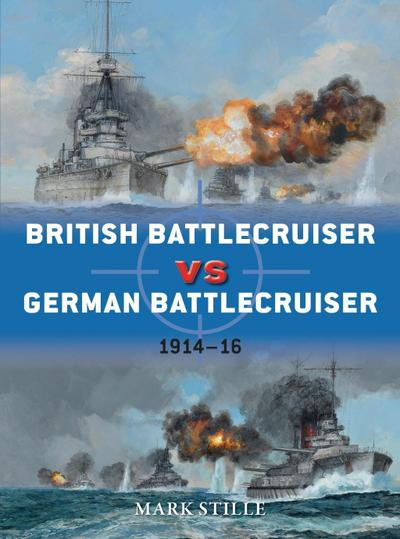 British Battlecruiser vs German Battlecruiser