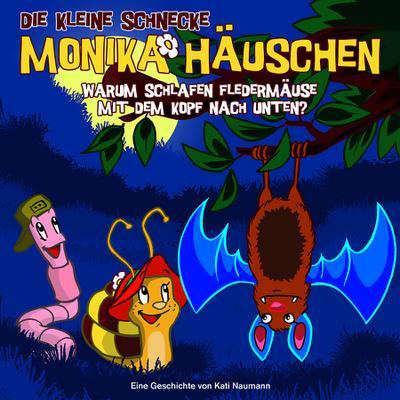 Die kleine Schnecke Monika Häuschen 07. Warum schlafen Fledermäuse mit dem Kopf nach unten?