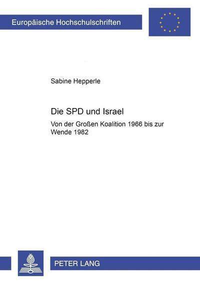 Die SPD und Israel