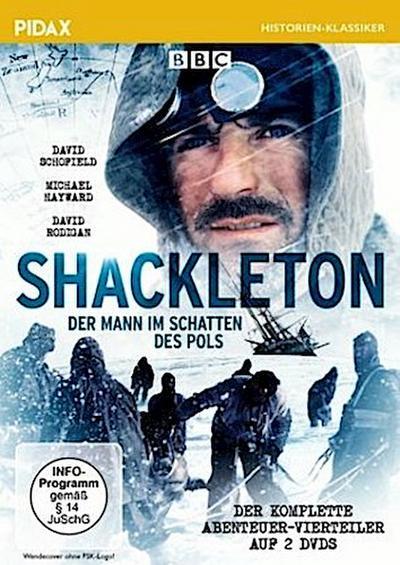 Shackleton - Der Mann im Schatten des Pols, 2 DVD
