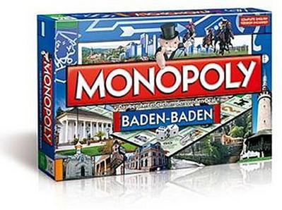 Winning Moves 40682 - Monopoly Baden-Baden