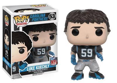 Pop NFL Luke Kuechly Ver3 Vinyl Figure