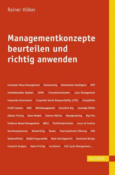 Managementkonzepte beurteilen und richtig anwenden