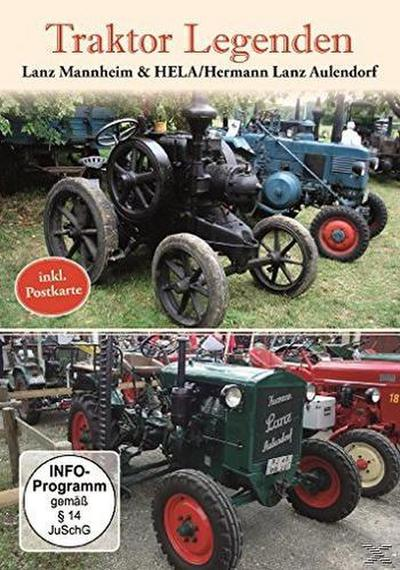 Traktor Legenden - Lanz Mannheim & HELA / Hermann Lanz Aulendorf