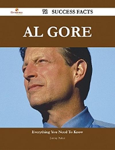 Al Gore 71 Success Facts - Everything you need to know about Al Gore