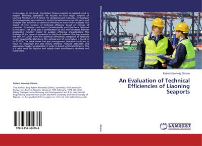 An Evaluation of Technical Efficiencies of Liaoning Seaports