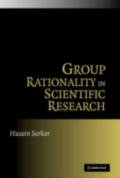 Group Rationality in Scientific Research