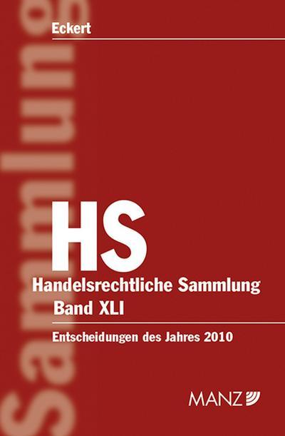 Handelsrechtliche Entscheidungen (HS) (f. Österreich). Bd.41