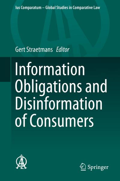 Information Obligations and Disinformation of Consumers