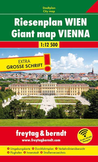Wien 1 : 12 500. Riesenplan