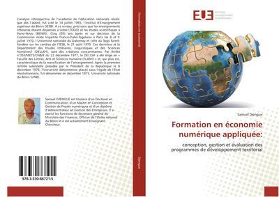 Formation en économie numérique appliquée:
