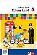 Colour Land ab Klasse 3. Activity Book mit CD-ROM und Audio-CD 4. Schuljahr