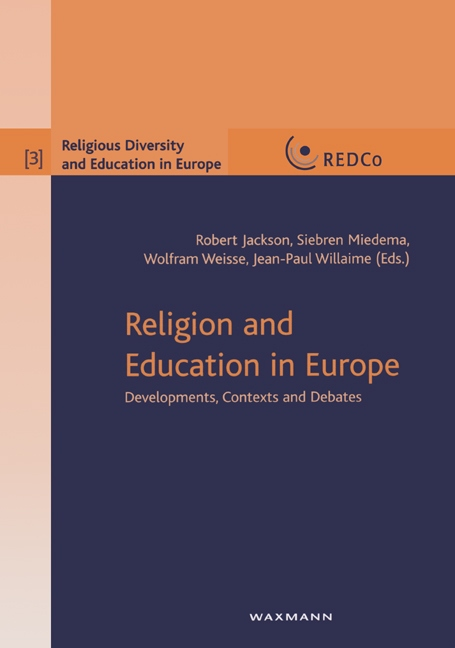Religion and Education in Europe Robert Jackson