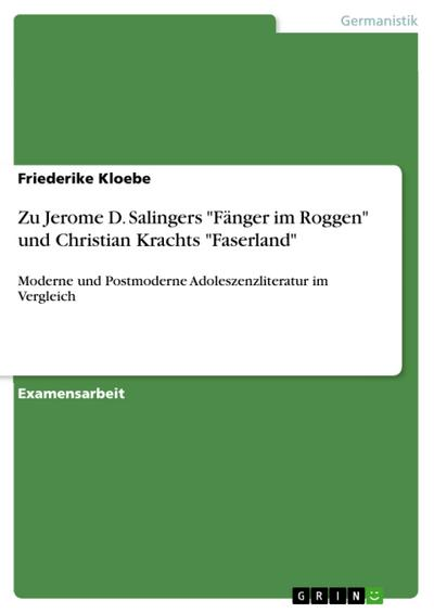 Zu Jerome D. Salingers