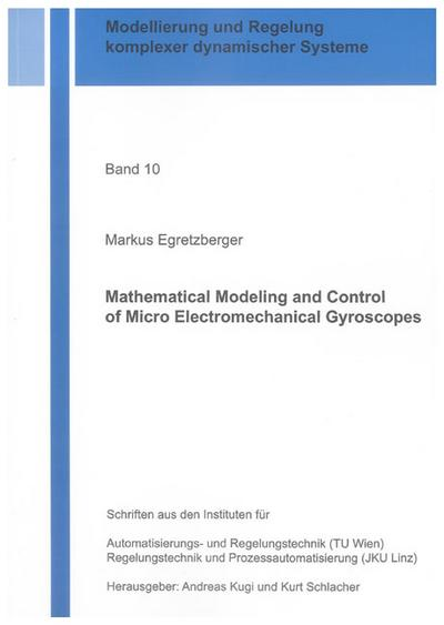 Mathematical Modeling and Control of Micro Electromechanical Gyroscopes