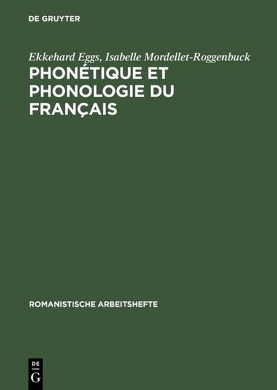Phonétique et phonologie du français