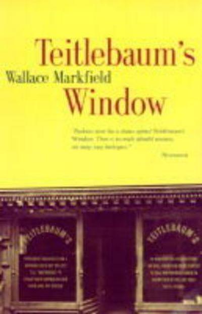 Teitlebaum's Window