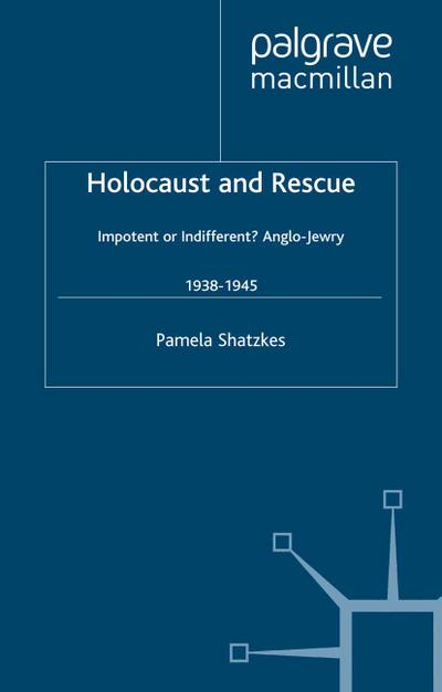 Holocaust and Rescue