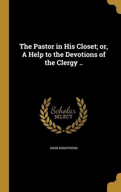 PASTOR IN HIS CLOSET OR A HELP