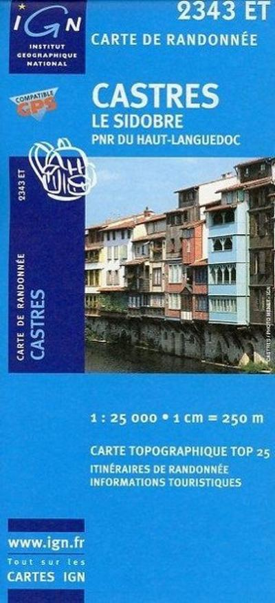 Castres 1 : 25 000
