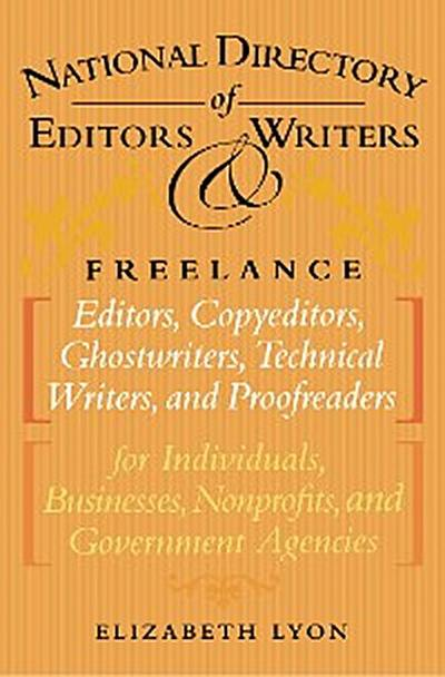 The National Directory of Editors and Writers
