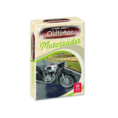 ASS Altenburger 22571455 - TOP ASS Oldtimer - Motorräder, Quartett, Kartenspiel - ASS Altenburger - Spielzeug, Deutsch, ASS Altenburger, ,